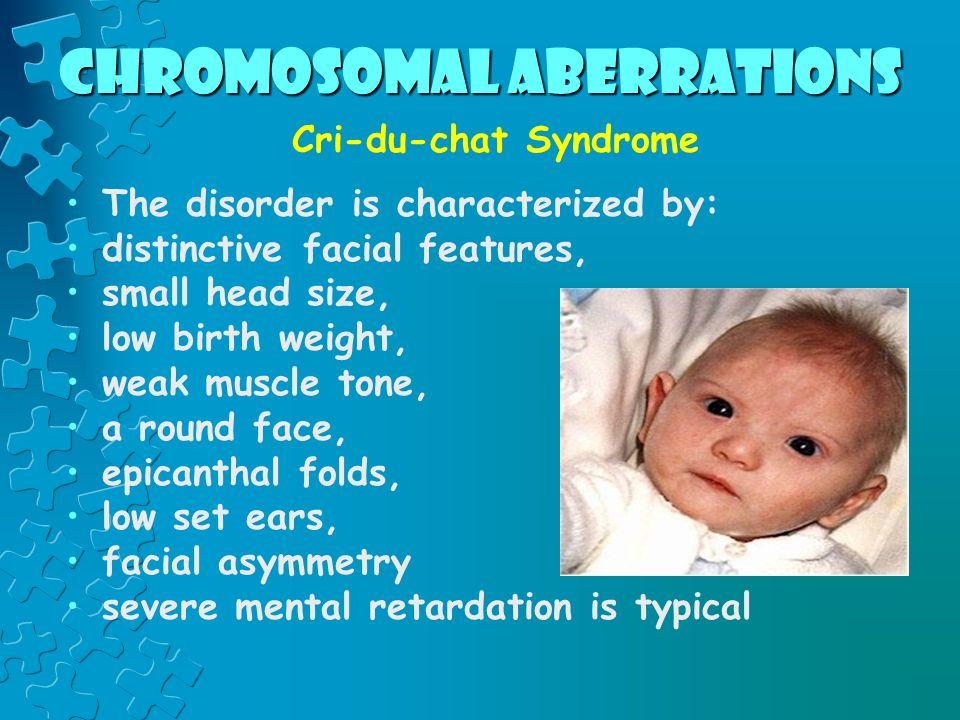 Chromosomal aberrations Sometimes entire chromosomes can be