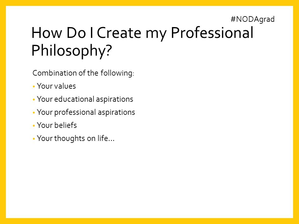 what is professional philosophy