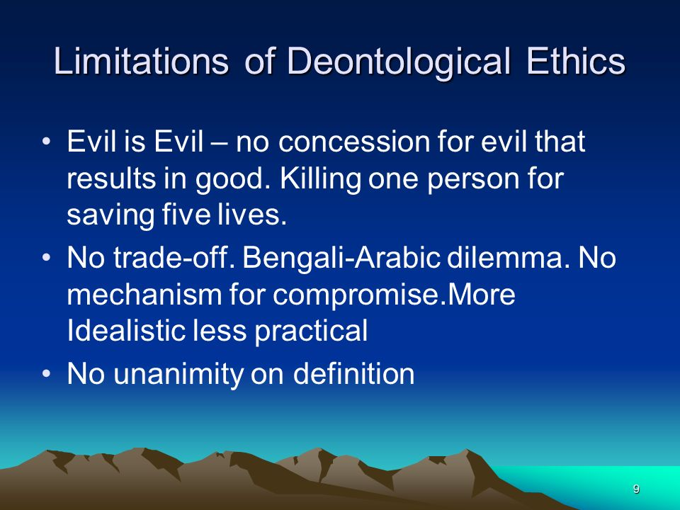 1 Business and Ethics-Session: 6 Ethical Theories, Theory of