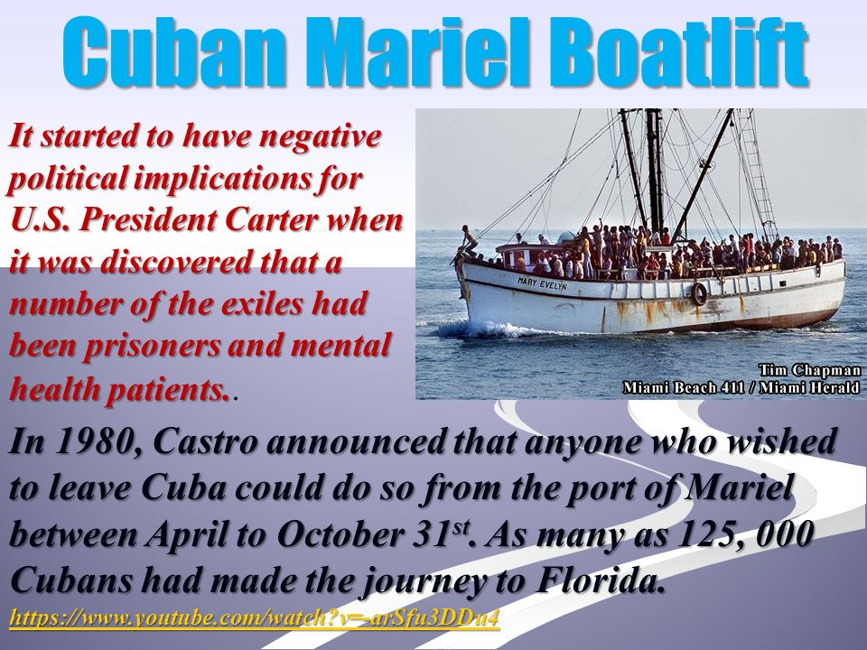 Image result for mariel boatlift