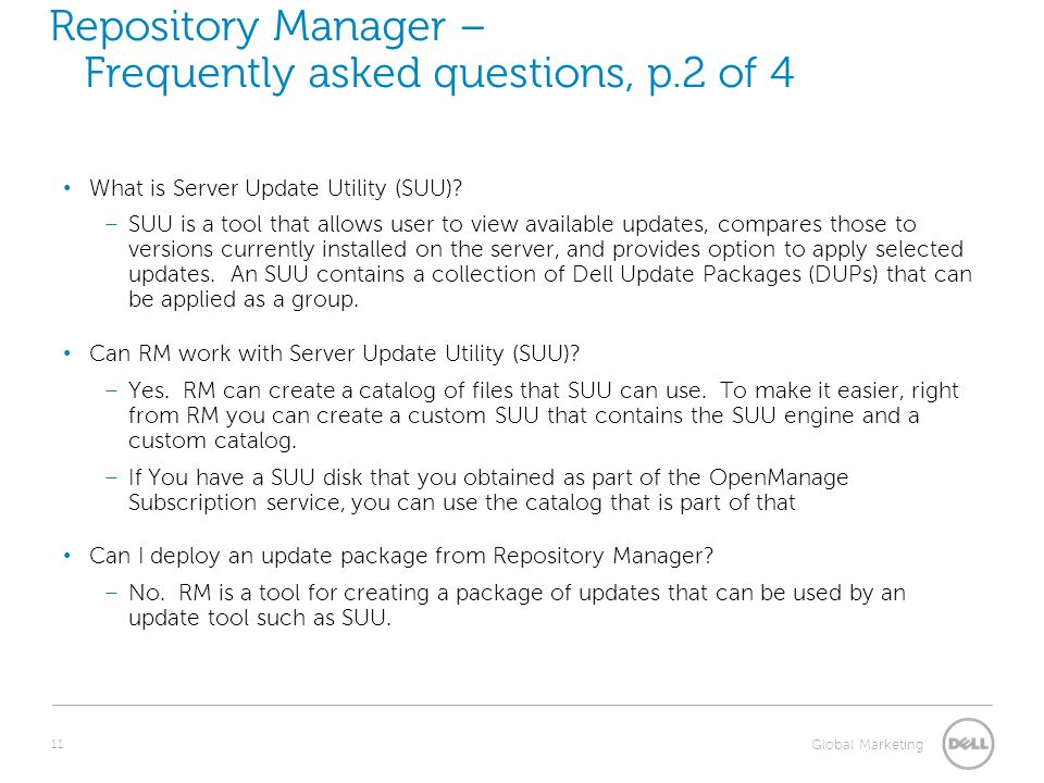 Repository Manager 1 3 Product Overview Name Title Date  - ppt download