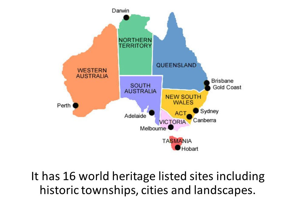 Australia australia is the 6th largest country in the world 11 it has 16 world heritage listed sites including historic townships cities and landscapes gumiabroncs Images