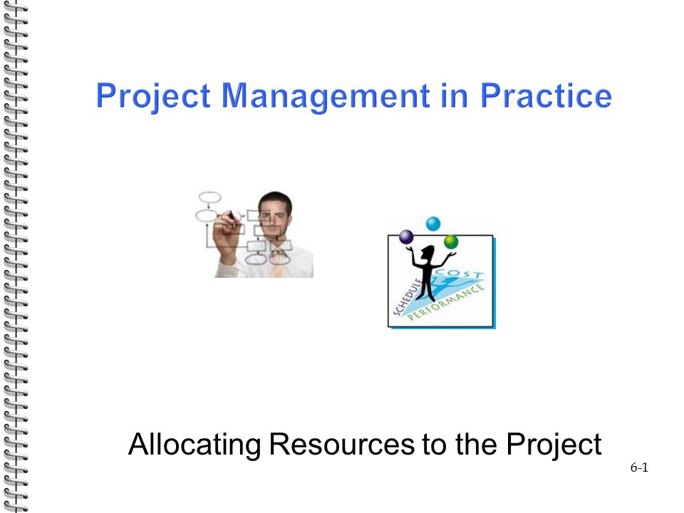 6-1 Allocating Resources to the Project  Outline: 6-2 Homework: 20