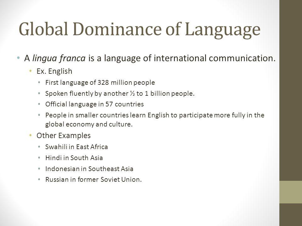 Review Language Chapter 5 Ki 4 Language Diversity Numerous