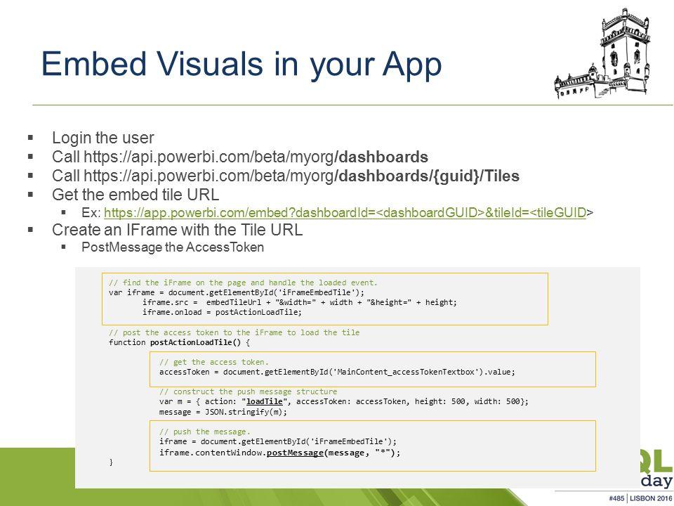 Power BI for Developers Rui Romano SQLSaturday com - ppt download