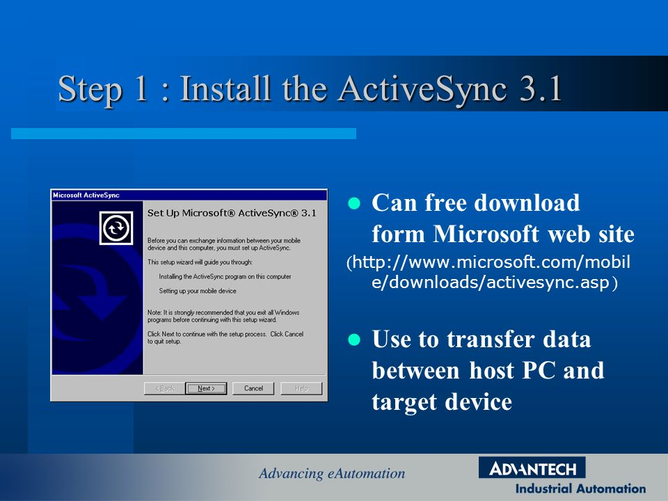 Download activesync 3. 0.
