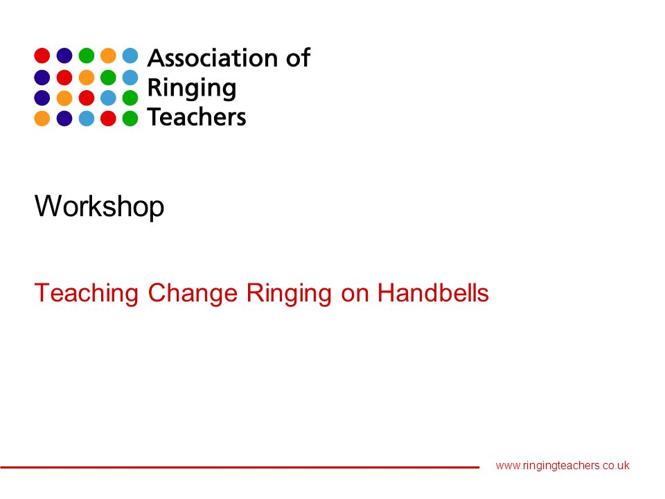 Lost And Found 4 Changeringing On Hand Bells