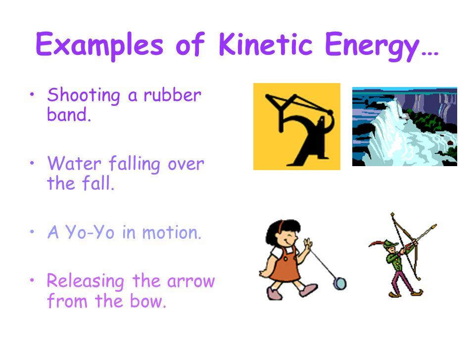 Examples of kinetic energy | tutorvista.
