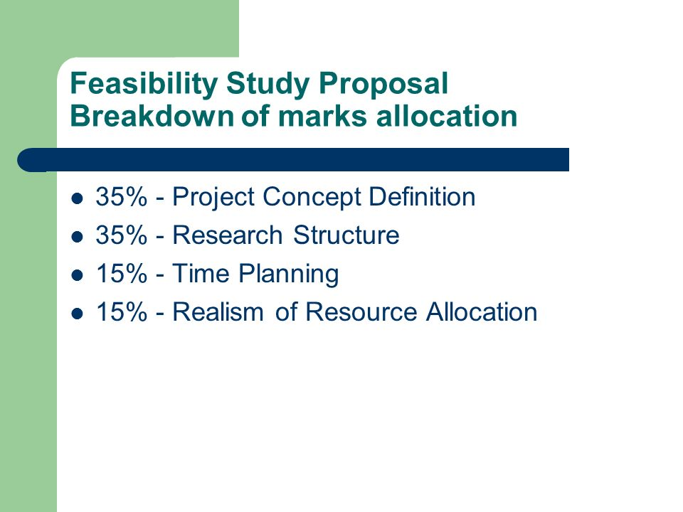 difference between demand forecasting and feasibility study