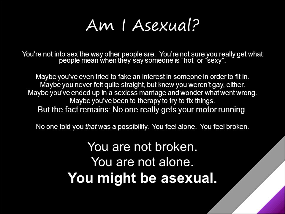 Am i asexual or gay