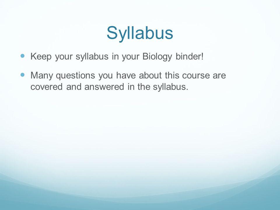 5 Syllabus ...