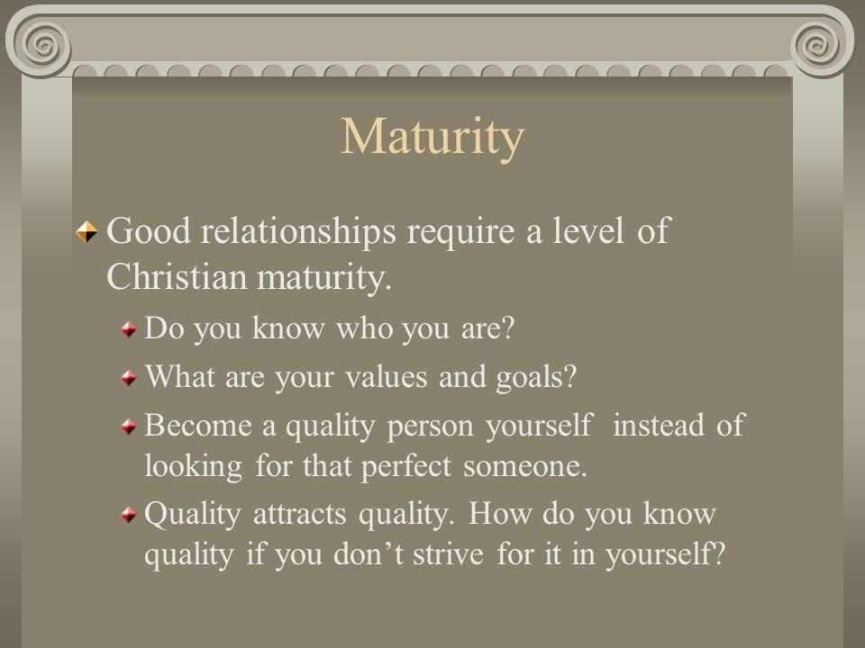 Perfect boundaries in dating