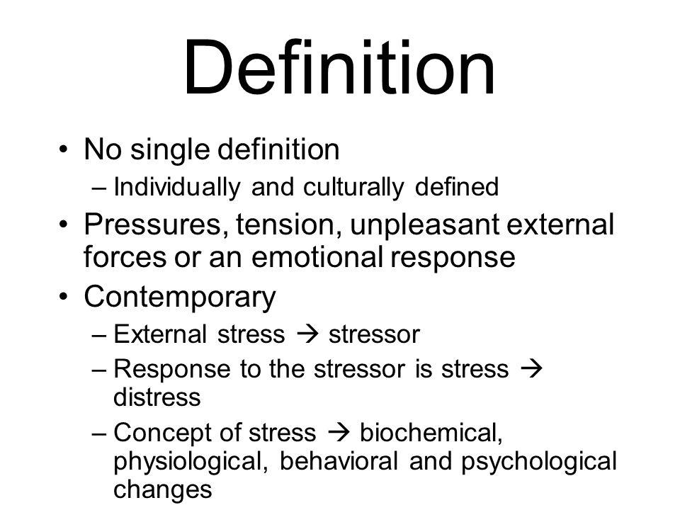 emotional tension definition
