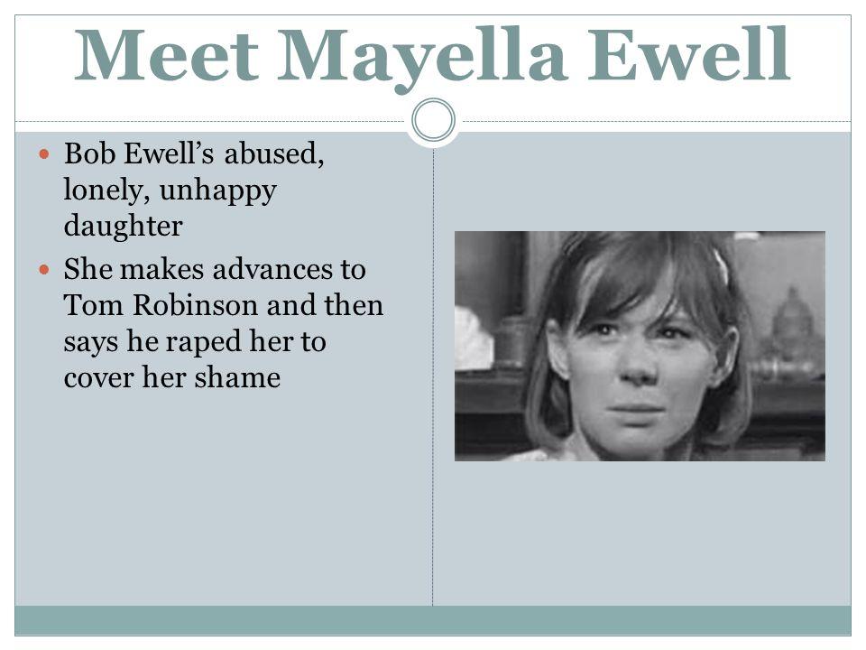 how is mayella ewell a mockingbird