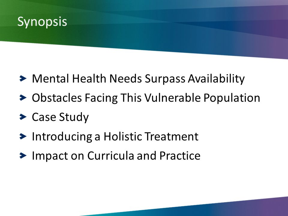 Case For Developing Core Mental Health Capabilities For
