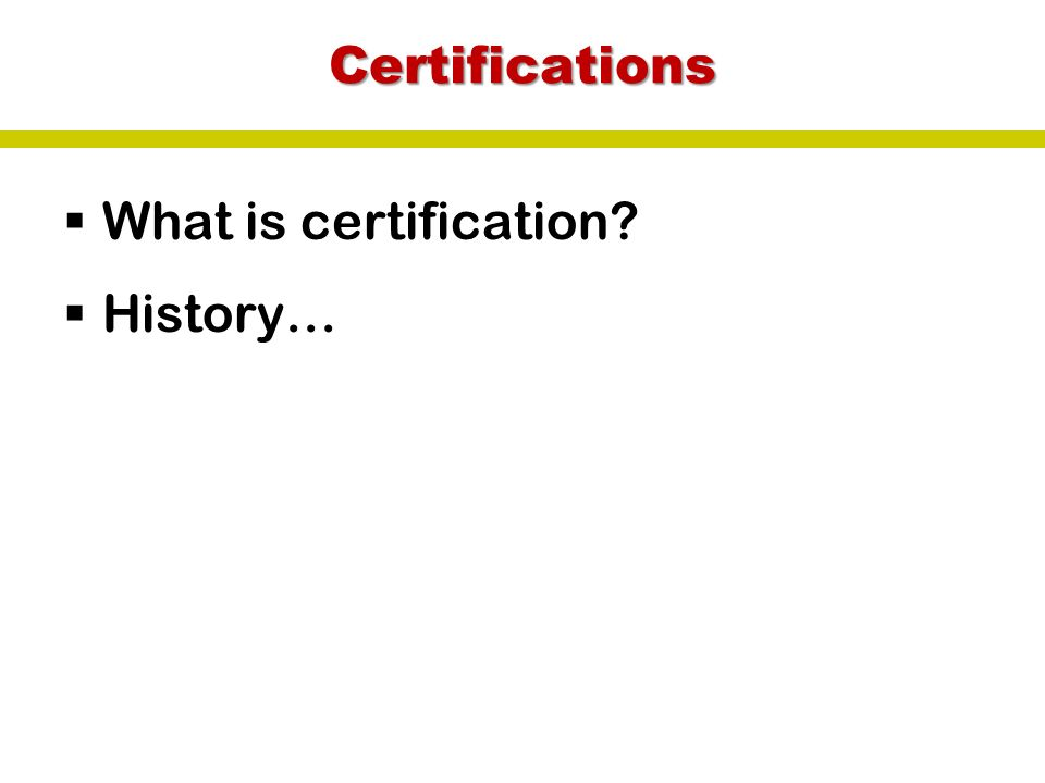 Ecotourism Certifications. Certifications  What is certification ...