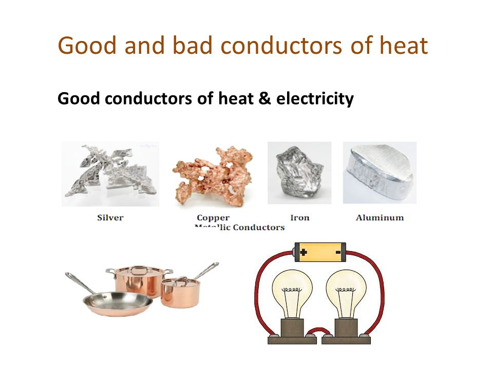 good conductor of heat and electricity