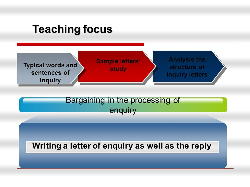 Unit 3 enquiries teaching objectives for enquiry 2 be familiar inquiry letters as 3 typical spiritdancerdesigns Images