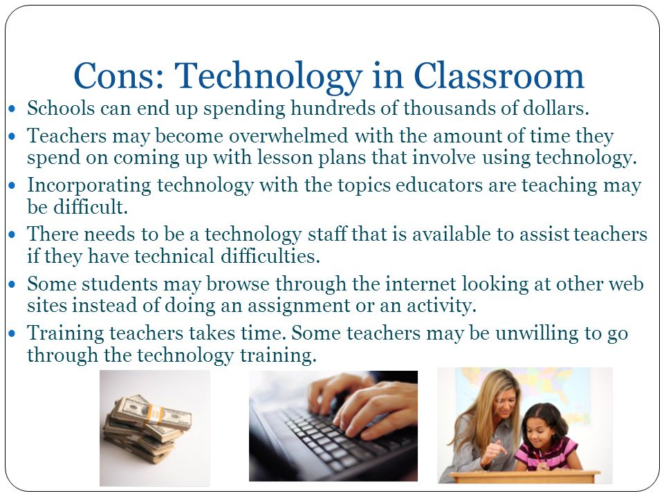 pros and cons of technology for youth