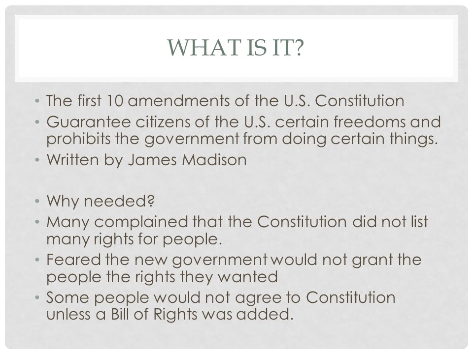 Author James Madison The Bill Of Rights What Is It First 10. The First 10 Amendments Of Us Constitution Guarantee Citizens. Worksheet. 10 Mandments Worksheet At Clickcart.co