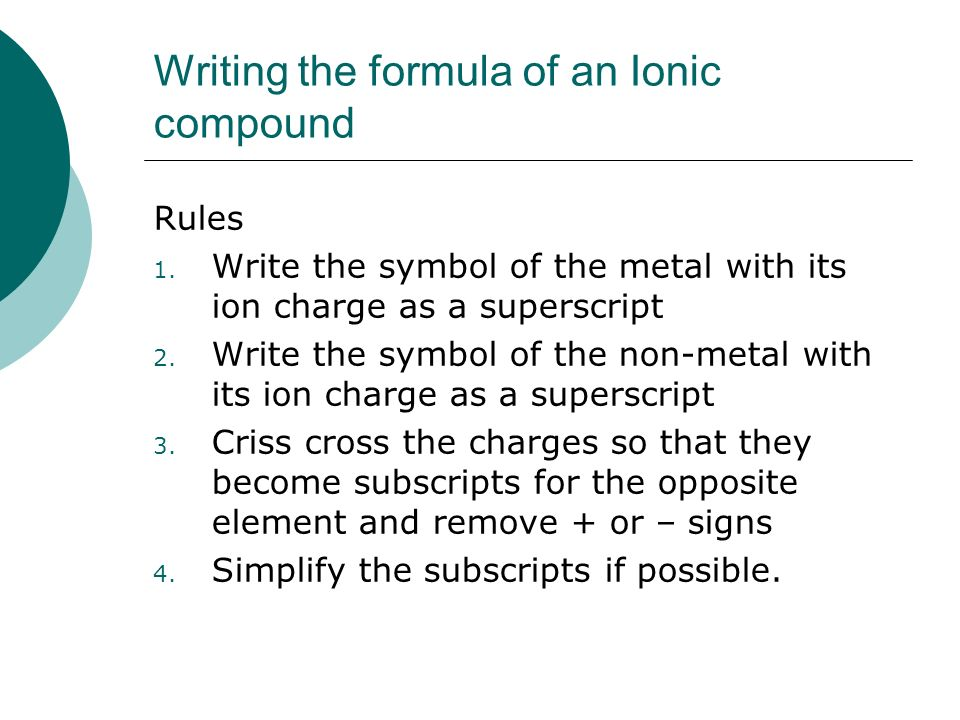 Worksheet Naming Ionic Compounds With Multivalent Metals Rcnschool