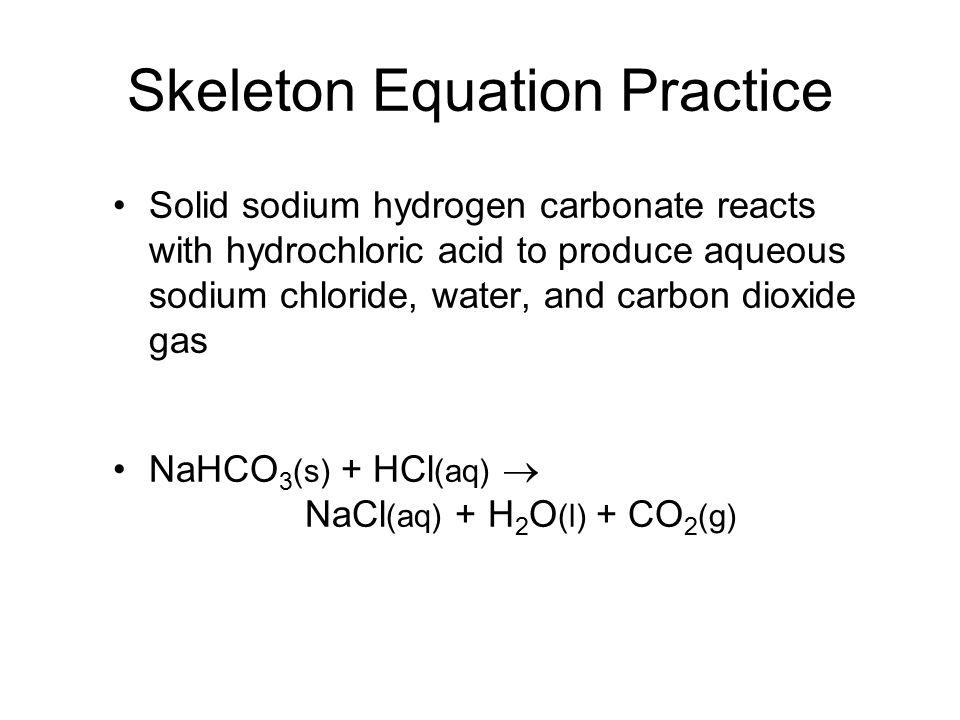 Chemical Reactions Ch8 Describing Chemical Change Reactants