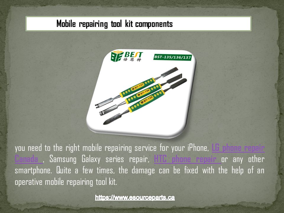 you need to the right mobile repairing service for your