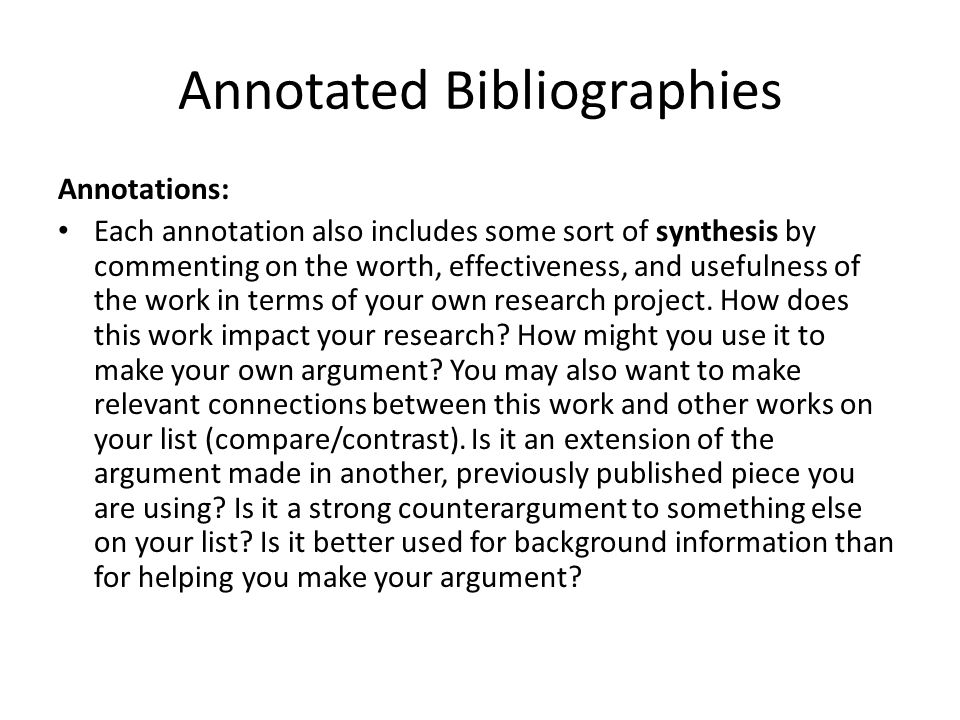 make your own bibliography