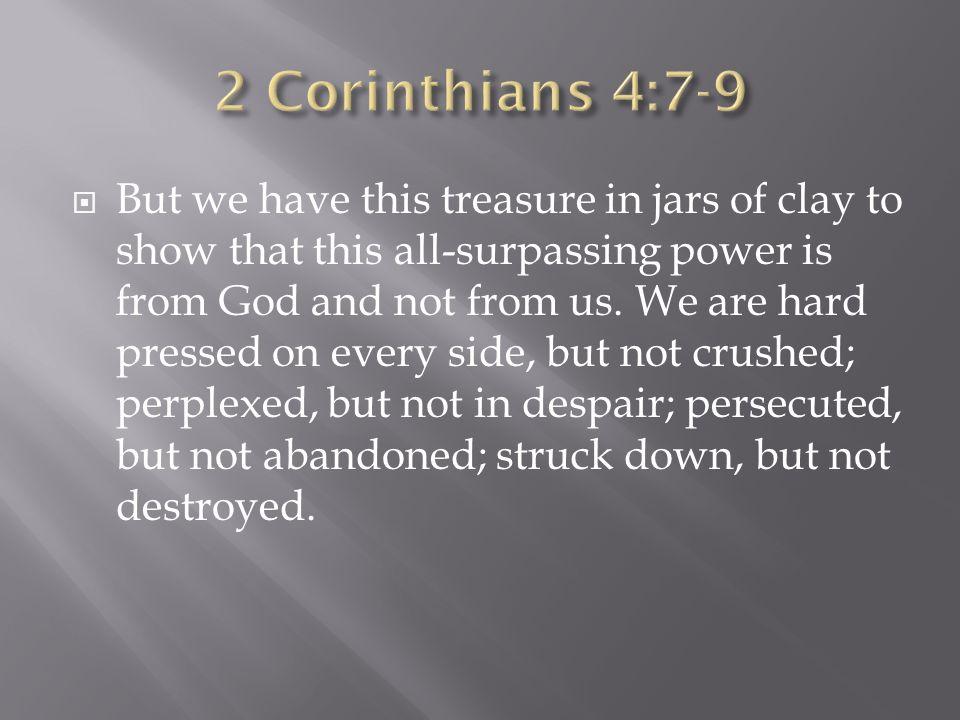 The Seven Deadly D S Luke 7 19 23 2 Corinthians 4 Ppt Download
