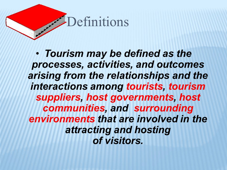 To obtain an overview of the historical development of tourism