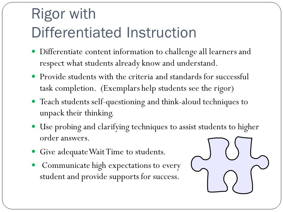 Teaching And Learning Cycle And Differentiated Instruction A Perfect