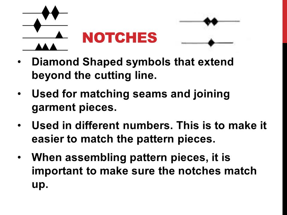 Sewing Pattern Symbols Choice Image Origami Instructions Easy For Kids