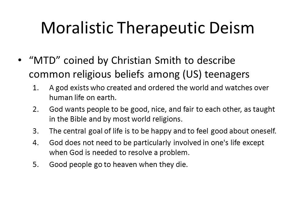 MORALISTIC THERAPEUTIC DEISM EPUB