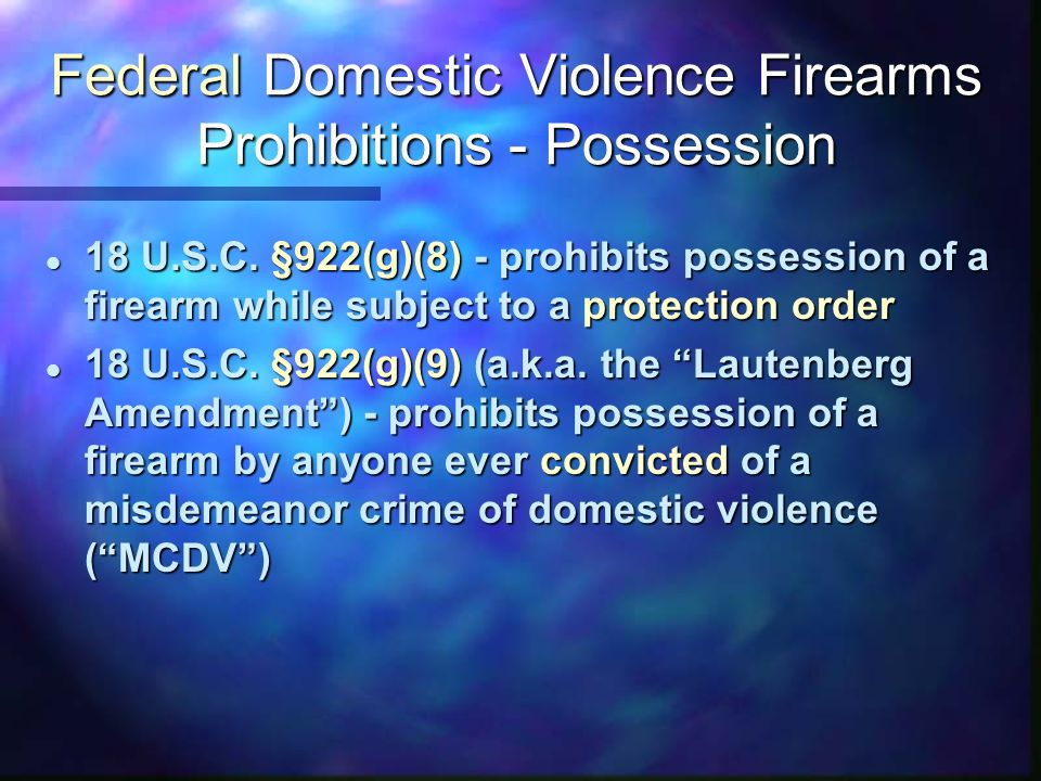Firearms And Domestic Violence Effective Approaches To Safeguarding