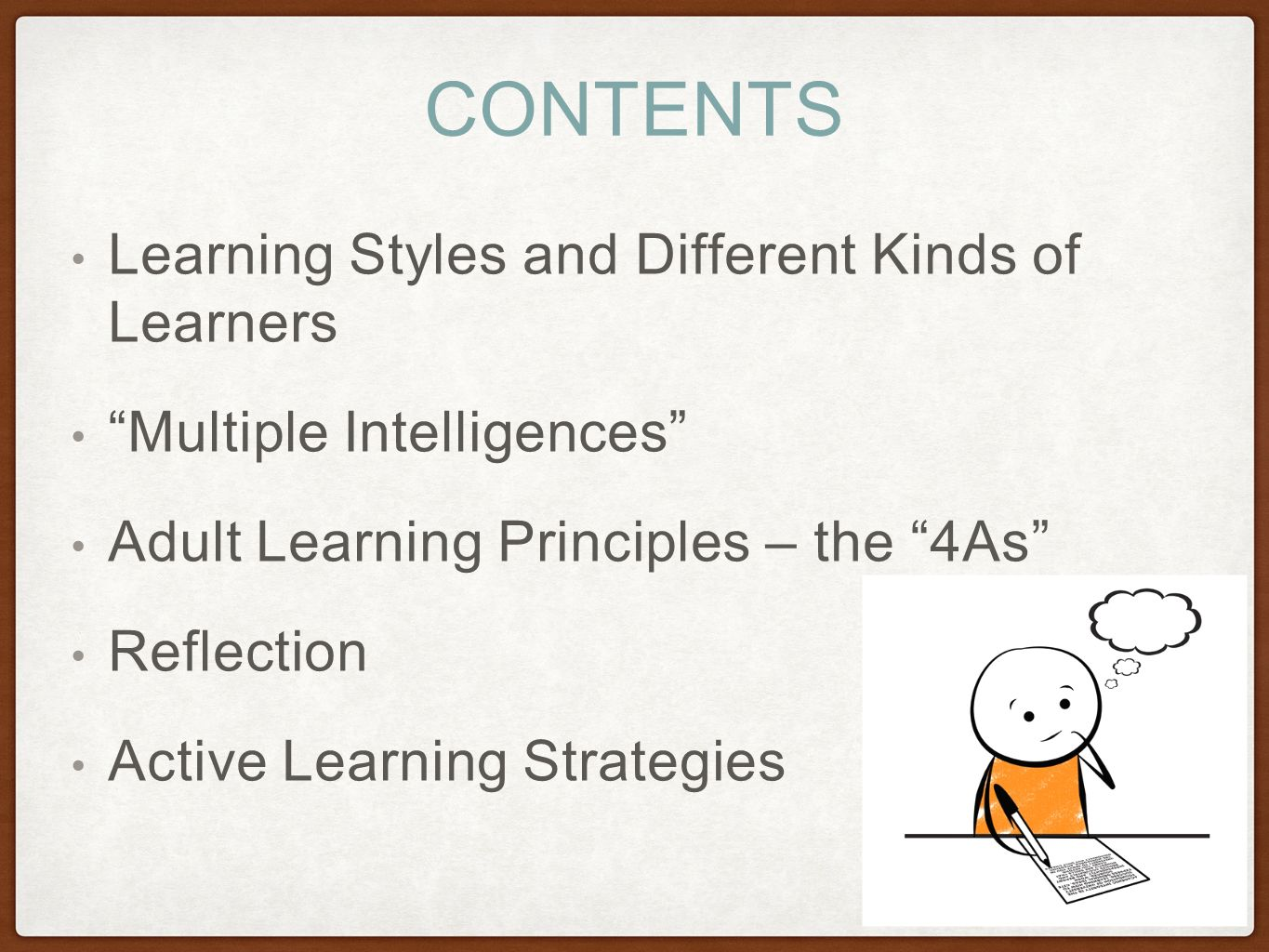 the different learning styles - HD1365×1024