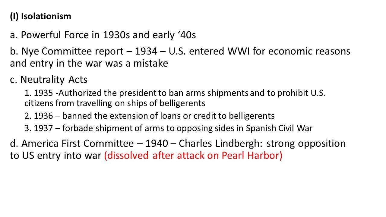 Worksheets Pearl Harbor Worksheet ain 67 should the u s have entered world war ii before 2 i isolationism