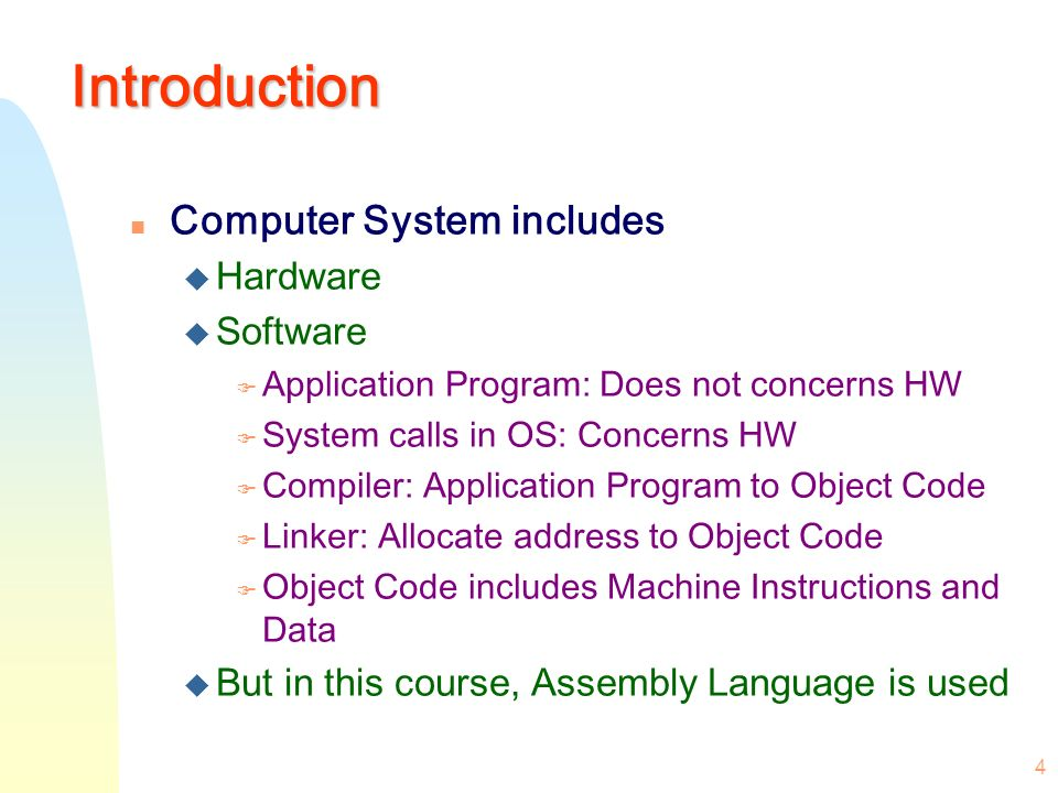 1 M Morris Mano Computer System Architecture Chapter 6 Programming