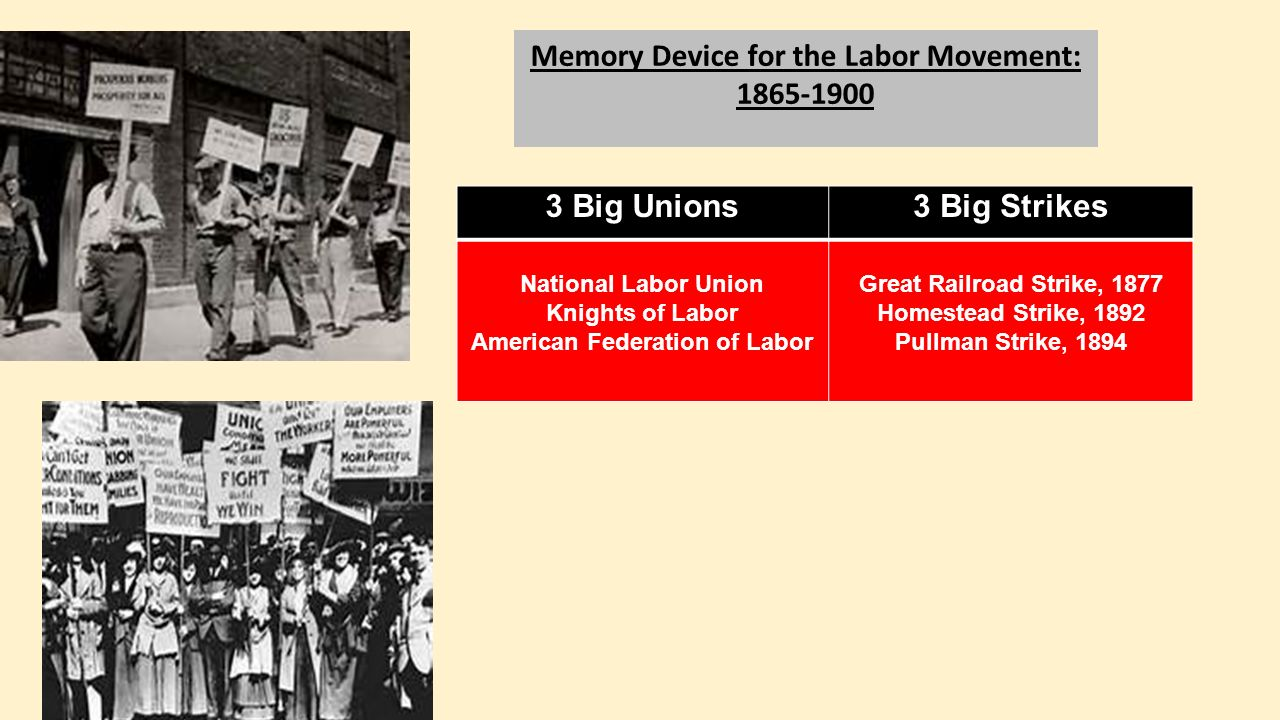 a history of labor unions in united states of america Labor unions in the united states are acknowledged as the legislative body of workers in lots of industries in the united states of america, the rate has declined.