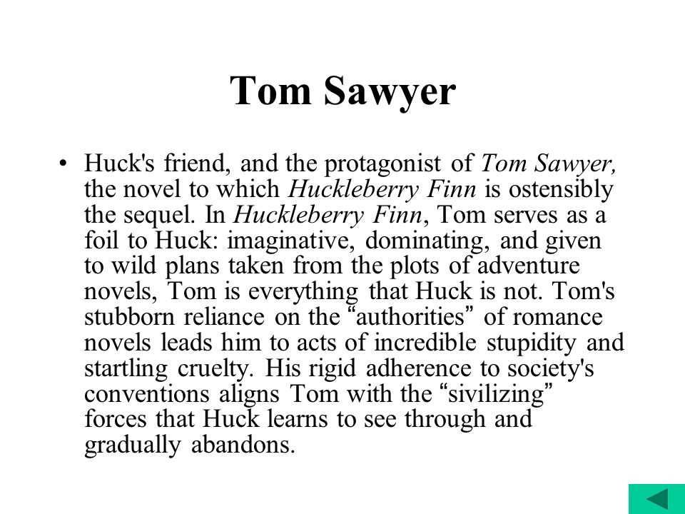 summary of tom sawyer novel
