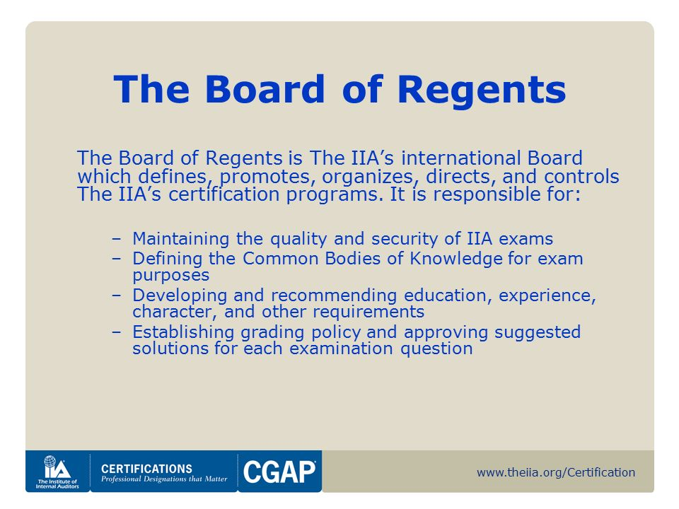 Certified Government Auditing Professional Cgap Ppt Download