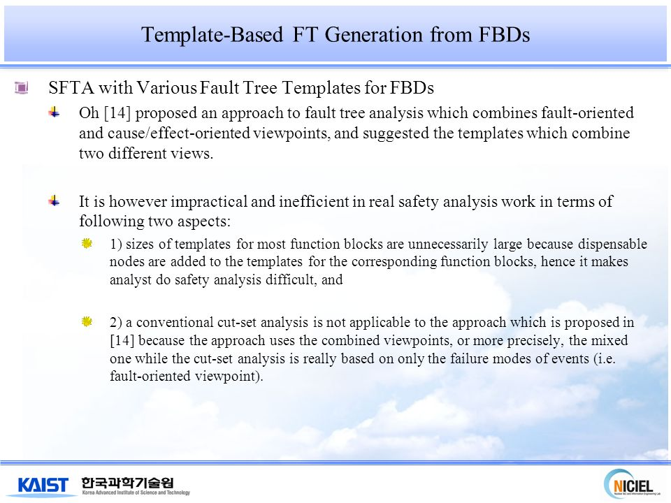 Fault Tree Based Software Safety Analysis Of Function Block Diagrams