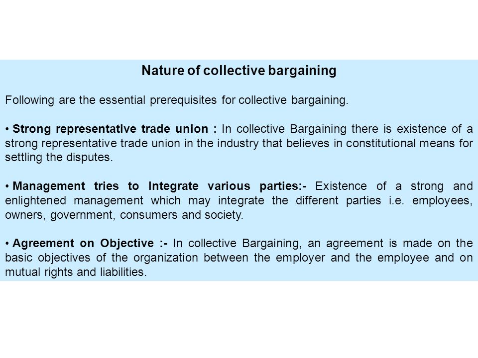 A Collective Bargaining Agreement Is Image Collections Agreement