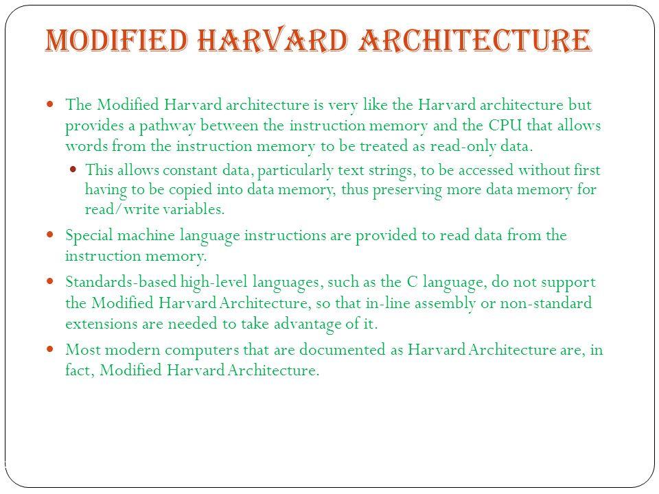 MODIFIED HARVARD ARCHITECTURE EBOOK DOWNLOAD
