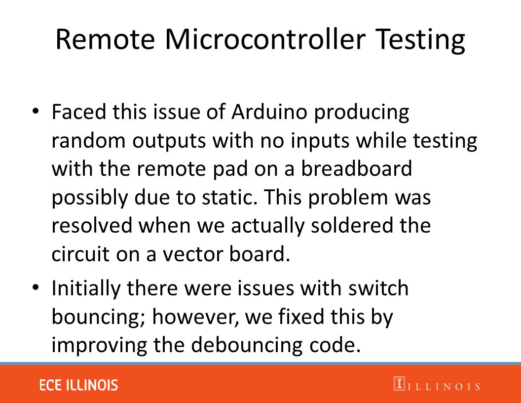 Isa Click Control 38 Fall 2014 Eric Brunngraber Drake Isabirye Remote Tester Circuit 13 Microcontroller