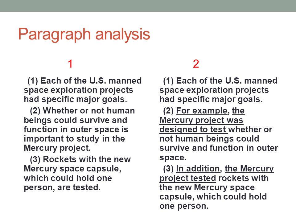 space exploration paragraph