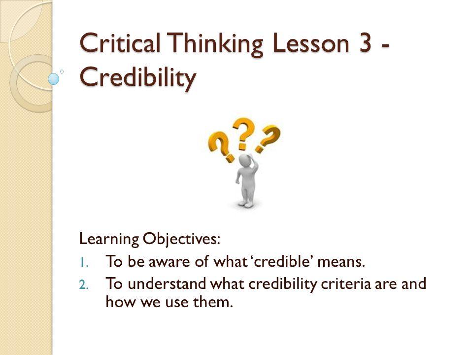 craven critical thinking