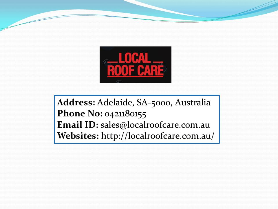 Address: Adelaide, SA-5000, Australia Phone No: ID: Websites: