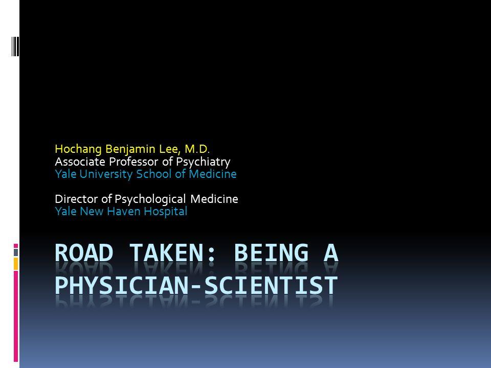Hochang Benjamin Lee, M D  Associate Professor of Psychiatry