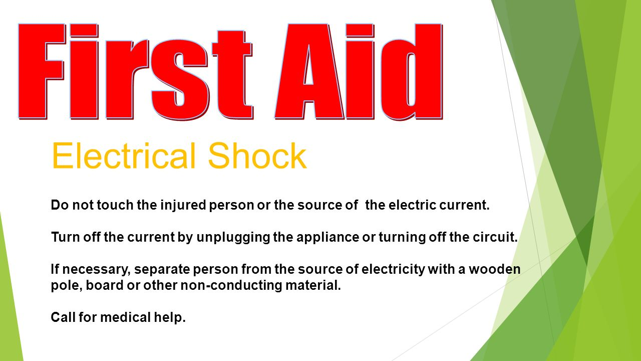 Turn Off Electrical Appliances Electricity Do Not Touch The Injured Person Or Source Of Electric Current 1280x720