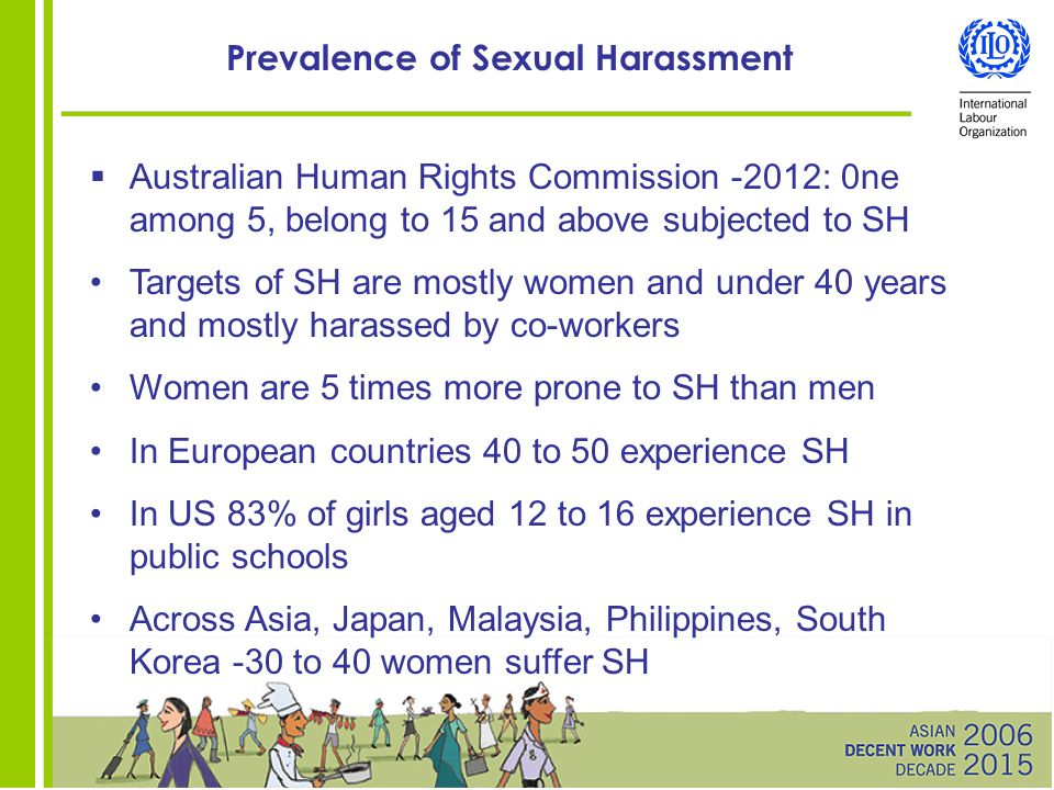Sexual harassment act ppt file